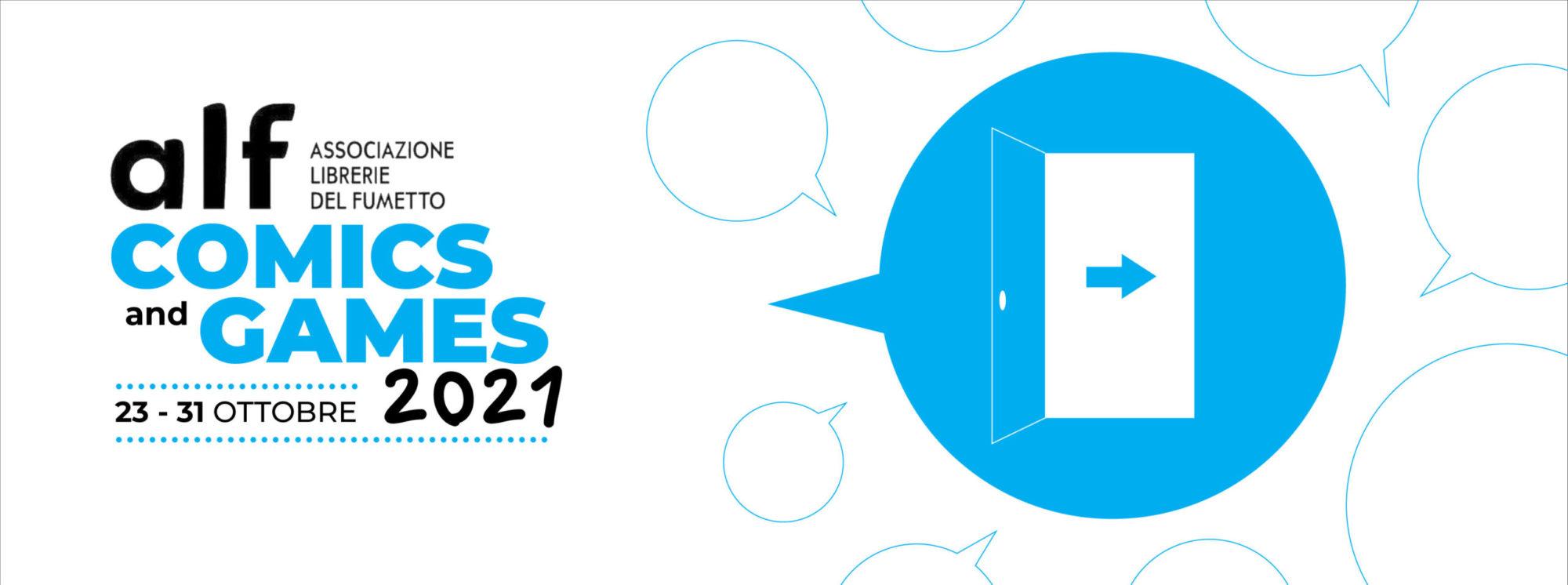 ALF Comics & Games 23/10-31/10/2021
